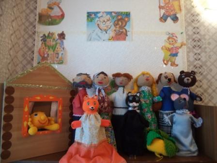 Подставка для кукольного театра би-ба-бо своими руками 35